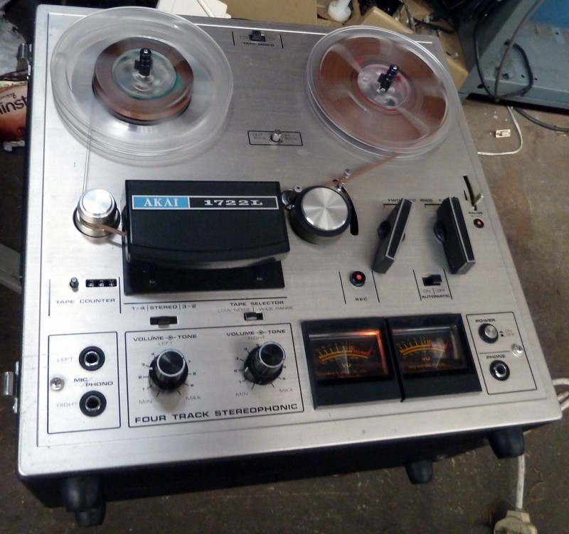 Practical semi-pro Akai reel to reel tape recorder 1975-77