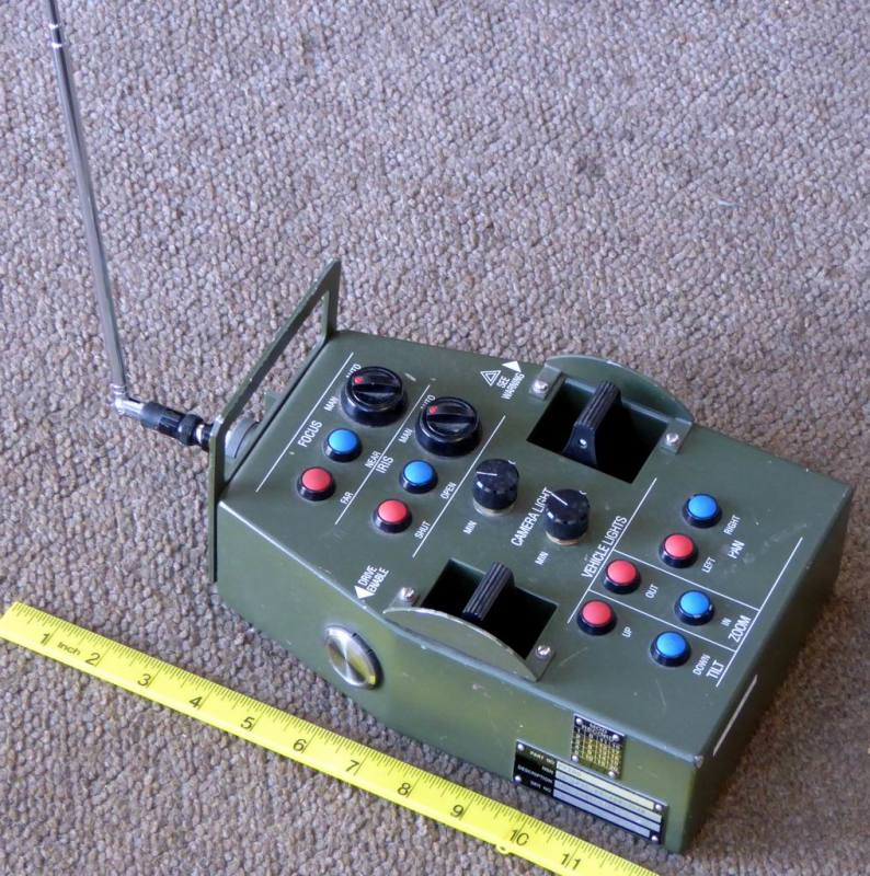 Military remote control prop