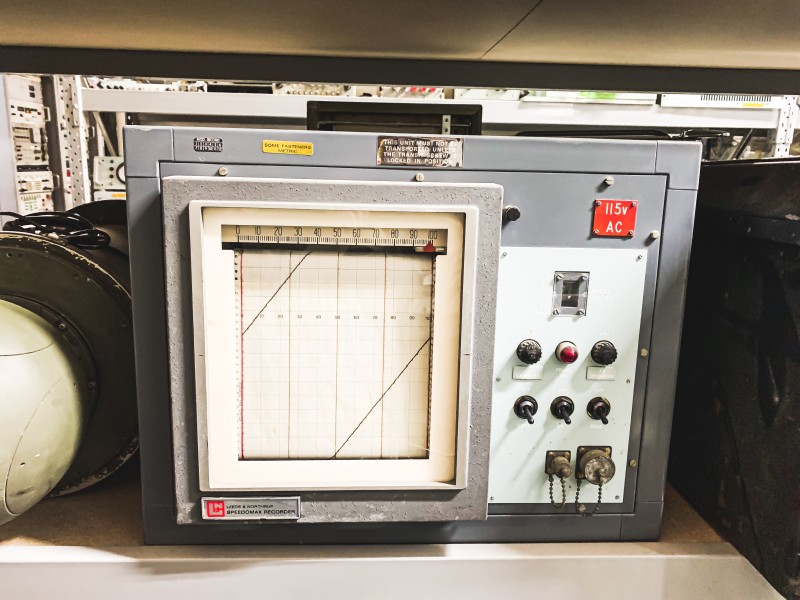 Period Military Chart recorder