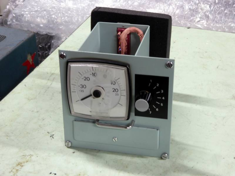 Navy panel with analogue meter & rotary switch
