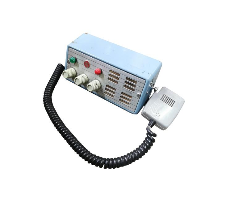 Retro in-car communications radio