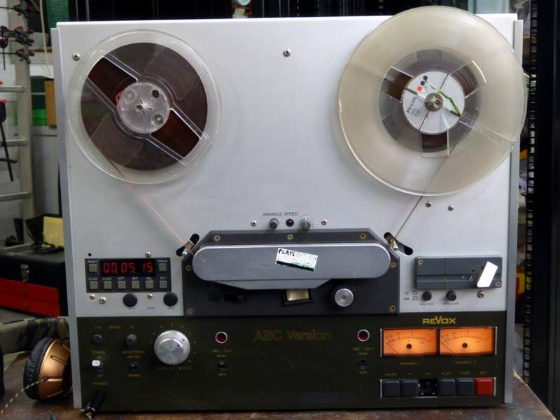 Practical Revox professional tape recorder