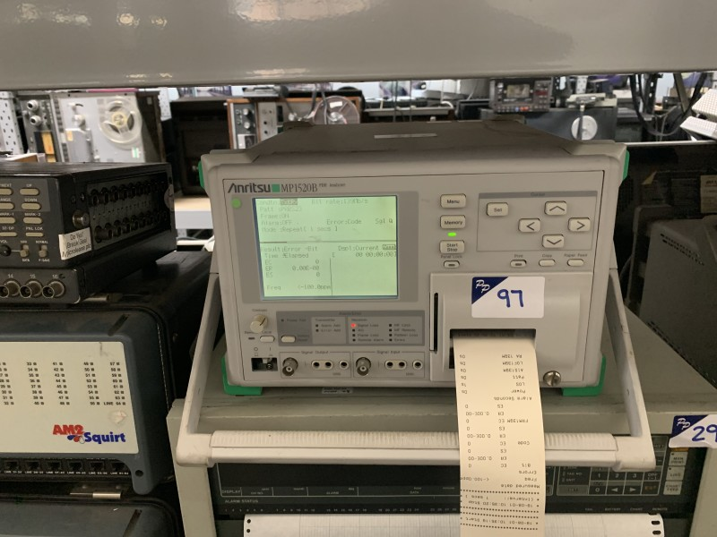 Practical Anristu Logic analyzer with printer