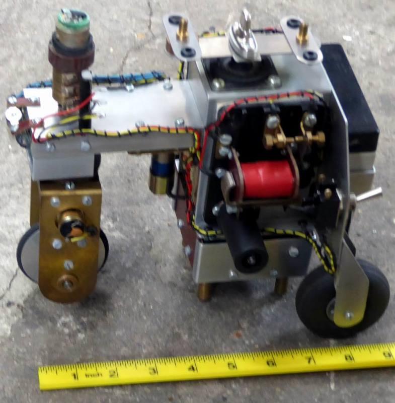 Home-made wheeled robot