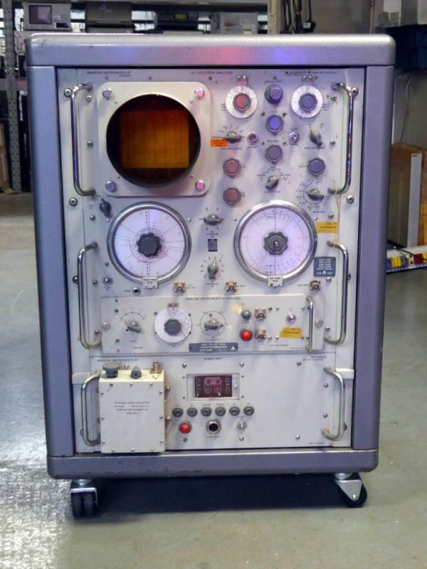1950s-1960s Marconi laboratory spectrum analyser