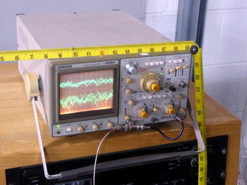 Practical Kikusui 5060 electronics laboratory/workshop oscilloscope