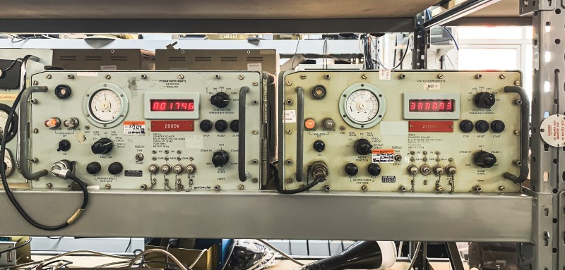 Practical blue military/naval Geiger counters