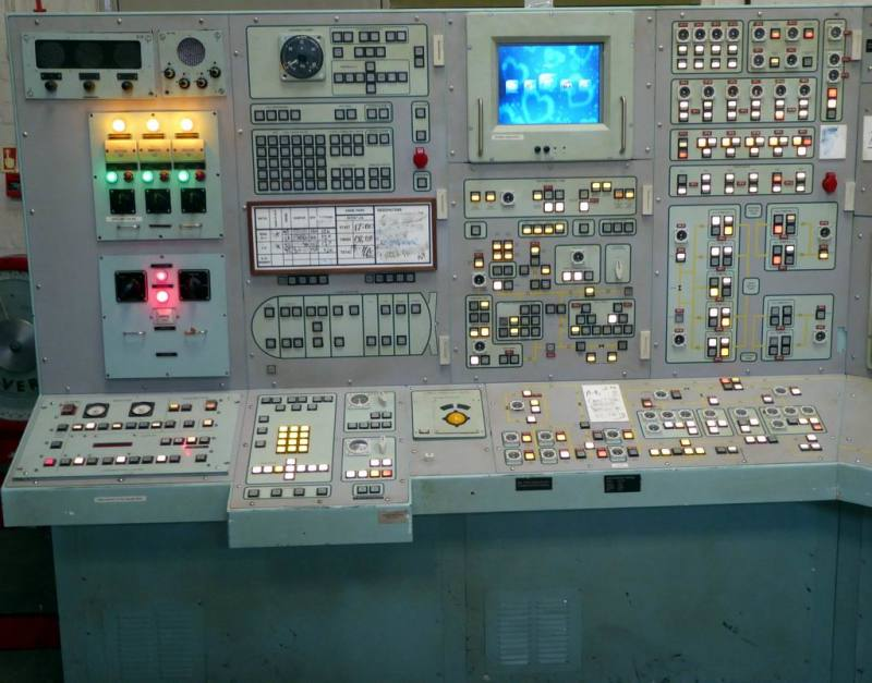 Huge practical industrial/military look control panel console assembly