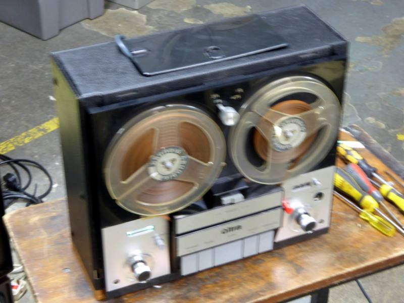 Practical Ultra 1960s-1970s reel to reel tape recorder