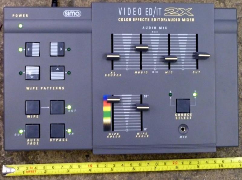 Small grey practical desktop console