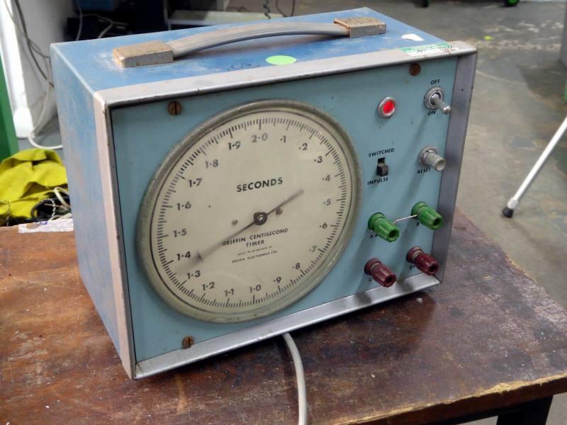 Laboratory analogue seconds timer
