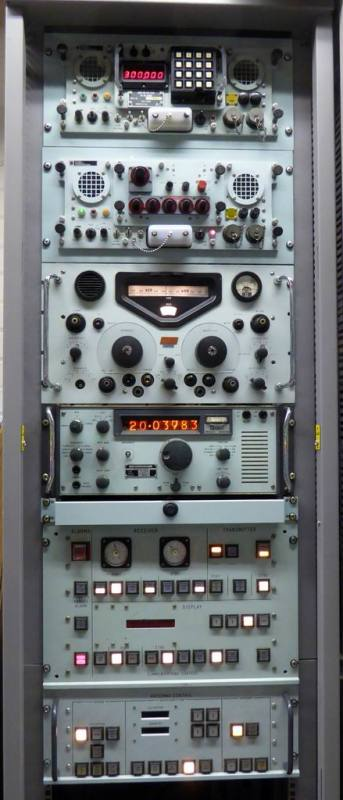 Example Selection of Navy/cold war era rack with practical panels