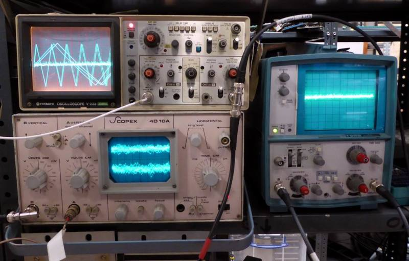 Example Selection of laboratory & workshop portable oscilloscopes