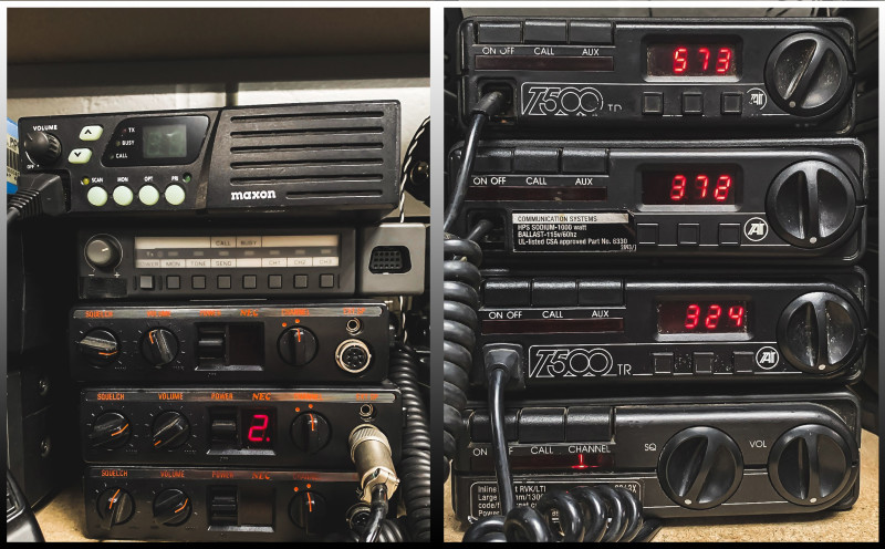 Example Selection of practical base station or vehicle mounted CB radios