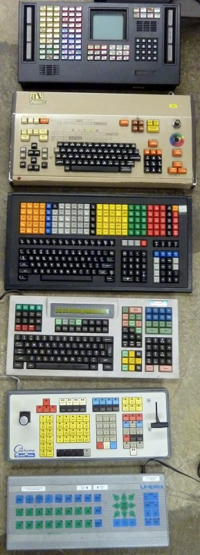 Example Selection of oddball keyboards