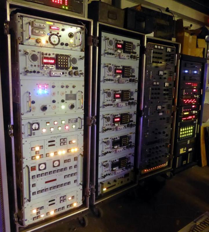 Ruggedised military look mobile server racks