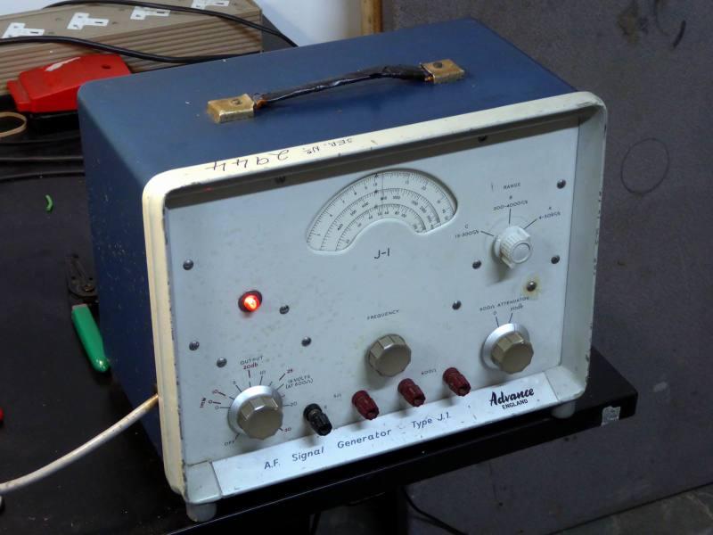 Practical Advance J1 laboratory/workshop audio signal generator