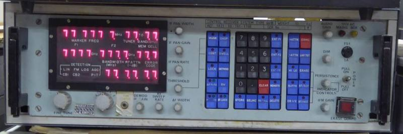 Practical navy radio panel