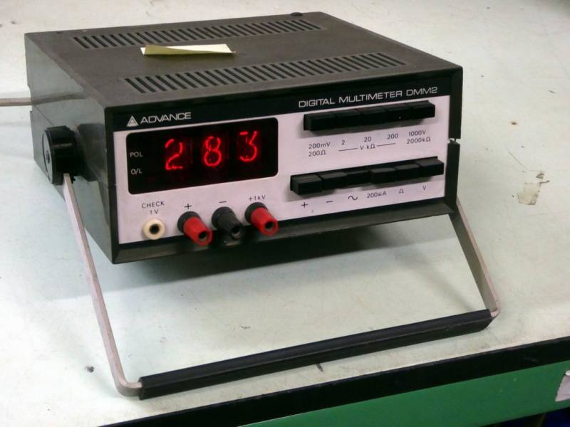 Practical Advance DMM2 laboratory digital multimeter with nixie tube display