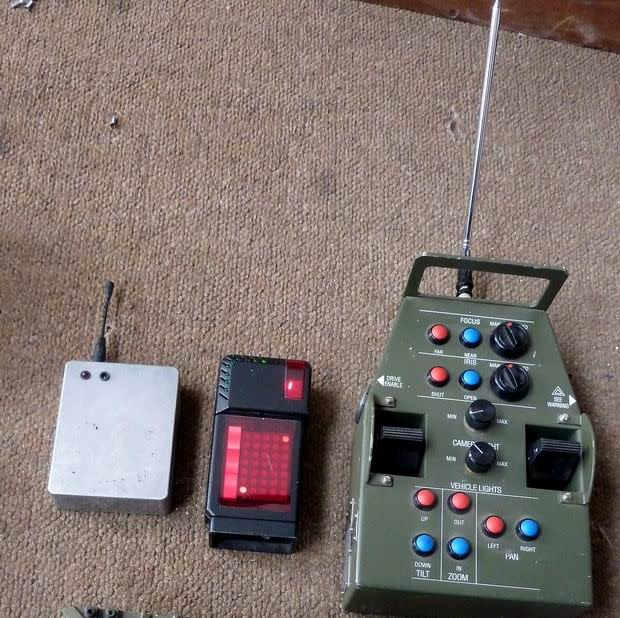 Example Selection of Technical looking portable props