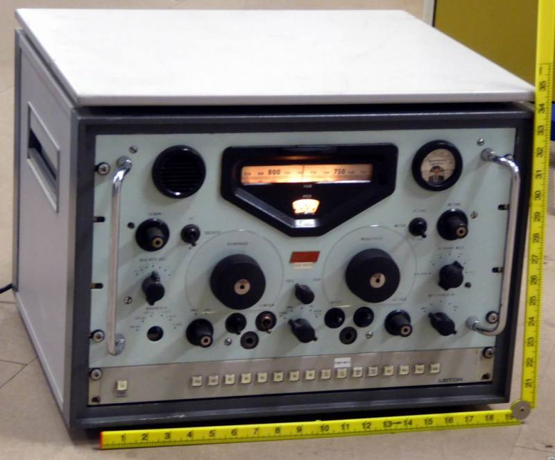 Racal RA17 vintage military communications radio