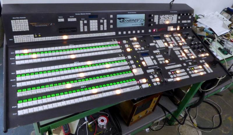 Practical Ross Synergy production video mixer