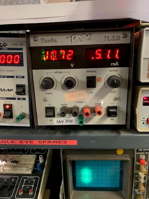 Practical bench power supply (Thurlby PL320)