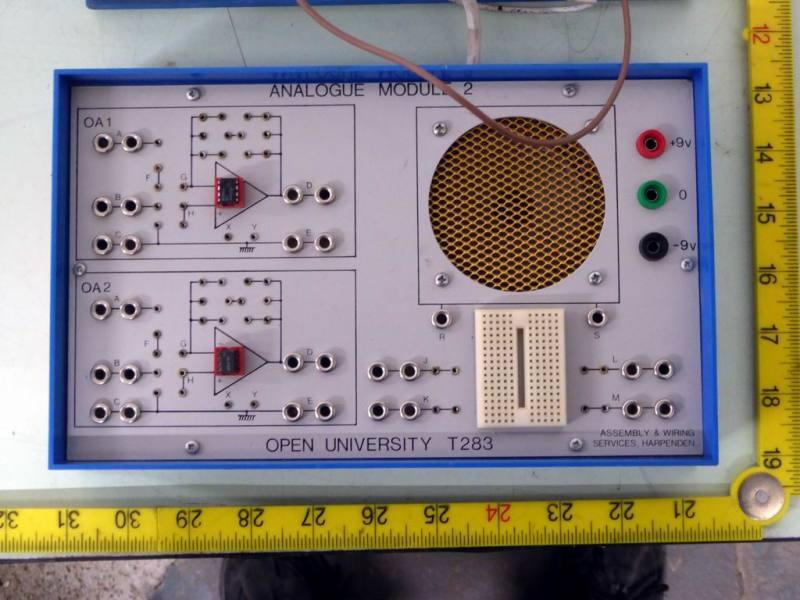 Home/ Open University electronics modular teaching aids