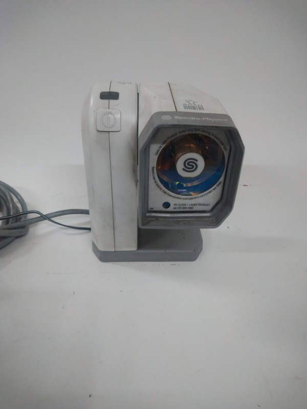 Practical tabletop barcode scanner & power supply