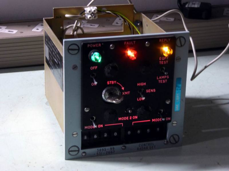 Fully practical military panel with switchable lamps & backlighting