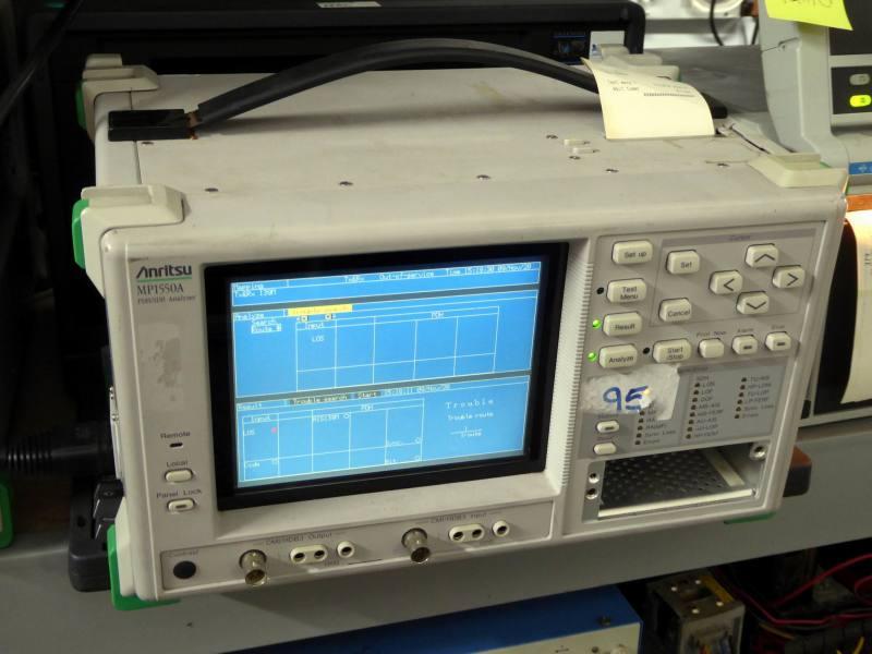 Practical Anritsu laboratory digital communications analyser