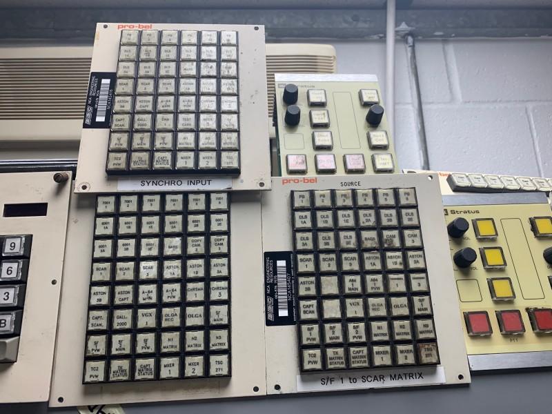 Practical 6x8 button array panels (Pro-Bel)