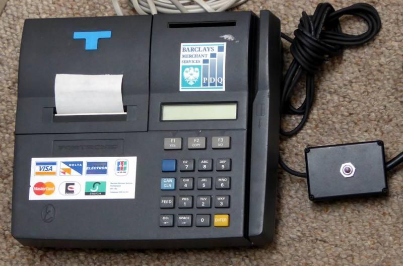 Practical printing chip & pin/PDQ terminal