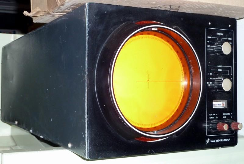 Practical desktop radar screen