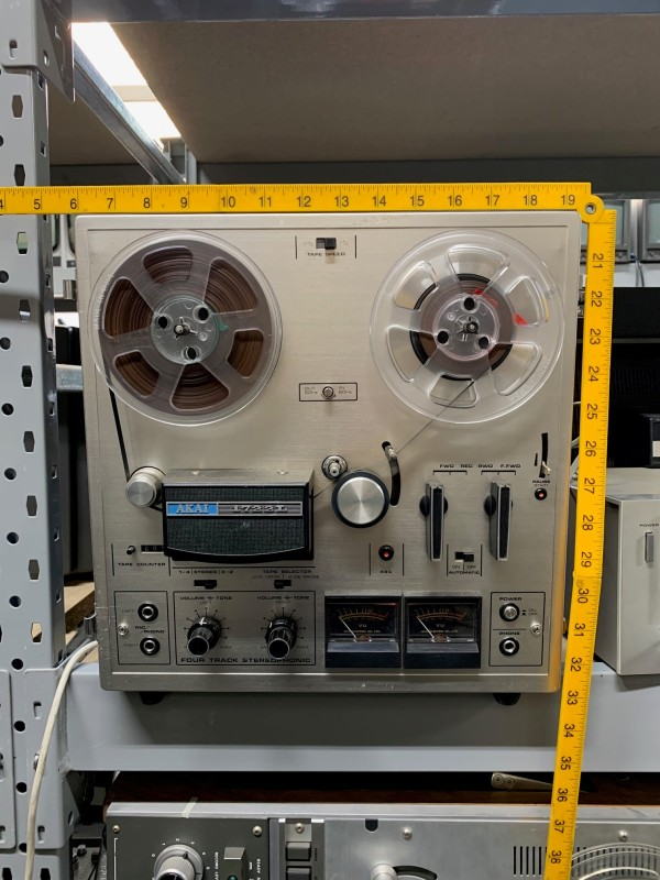 Practical Akai reel to reel tape player/recorder