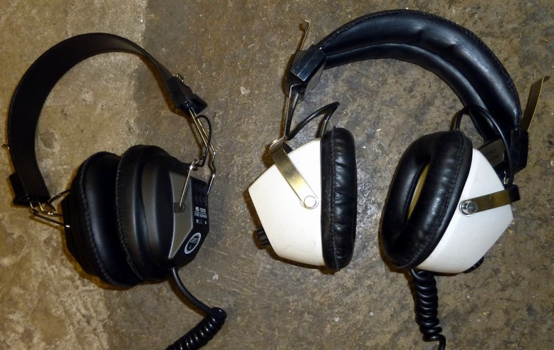 1970s-1990s period headphones