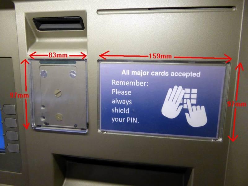 Fully practical ATM cash dispenser machine