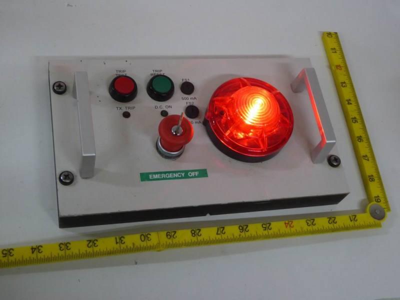 Practical alarm type panel