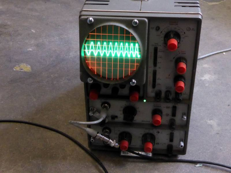 Practical period laboratory/workshop oscilloscope