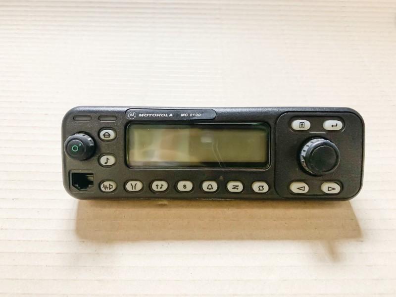 Motorola radio face panel