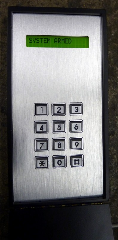 Practical customisable security access panel