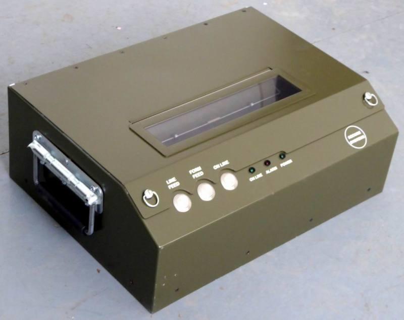 Military desktop printers