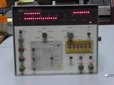 Practical Hewlett Packard 5000A logic analyser laboratory instrument