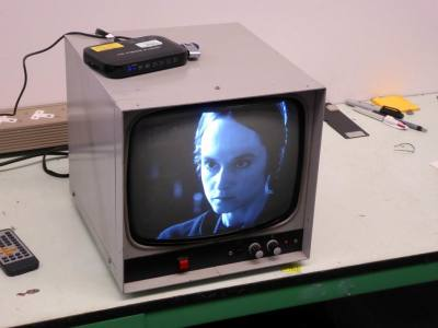 "Practical 12"" 1960s-1970s monochrome video monitors"