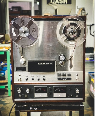 Practical TEAC reel to reel recorder (A-7030)