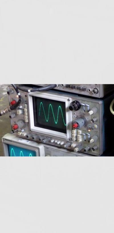 Practical Tektronix bench top oscilloscope