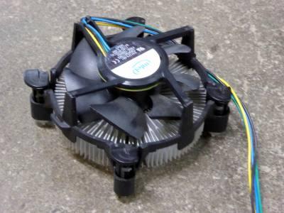 Computer cooling fan & radial heatsink assembly