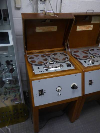 Period BBC editing tape recorders