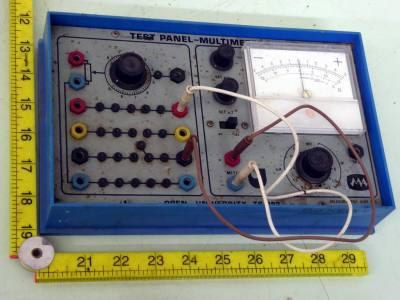 Home electronics teaching multimeter