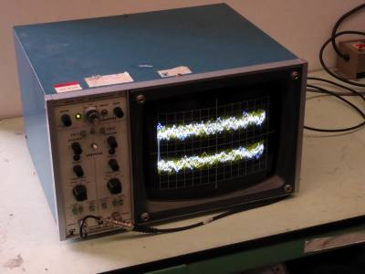 Practical very large screen oscilloscope display